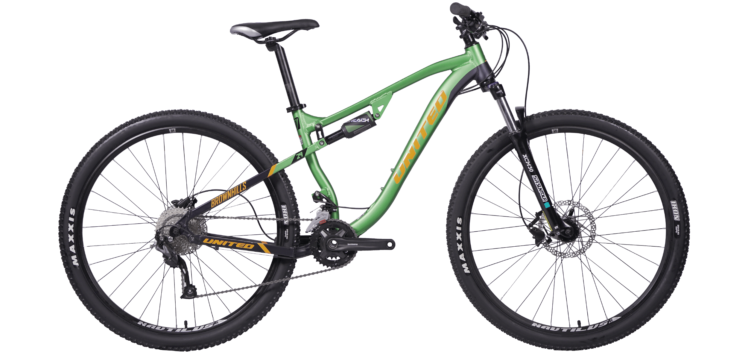 BROWNHILLS T1 :: Green-Black