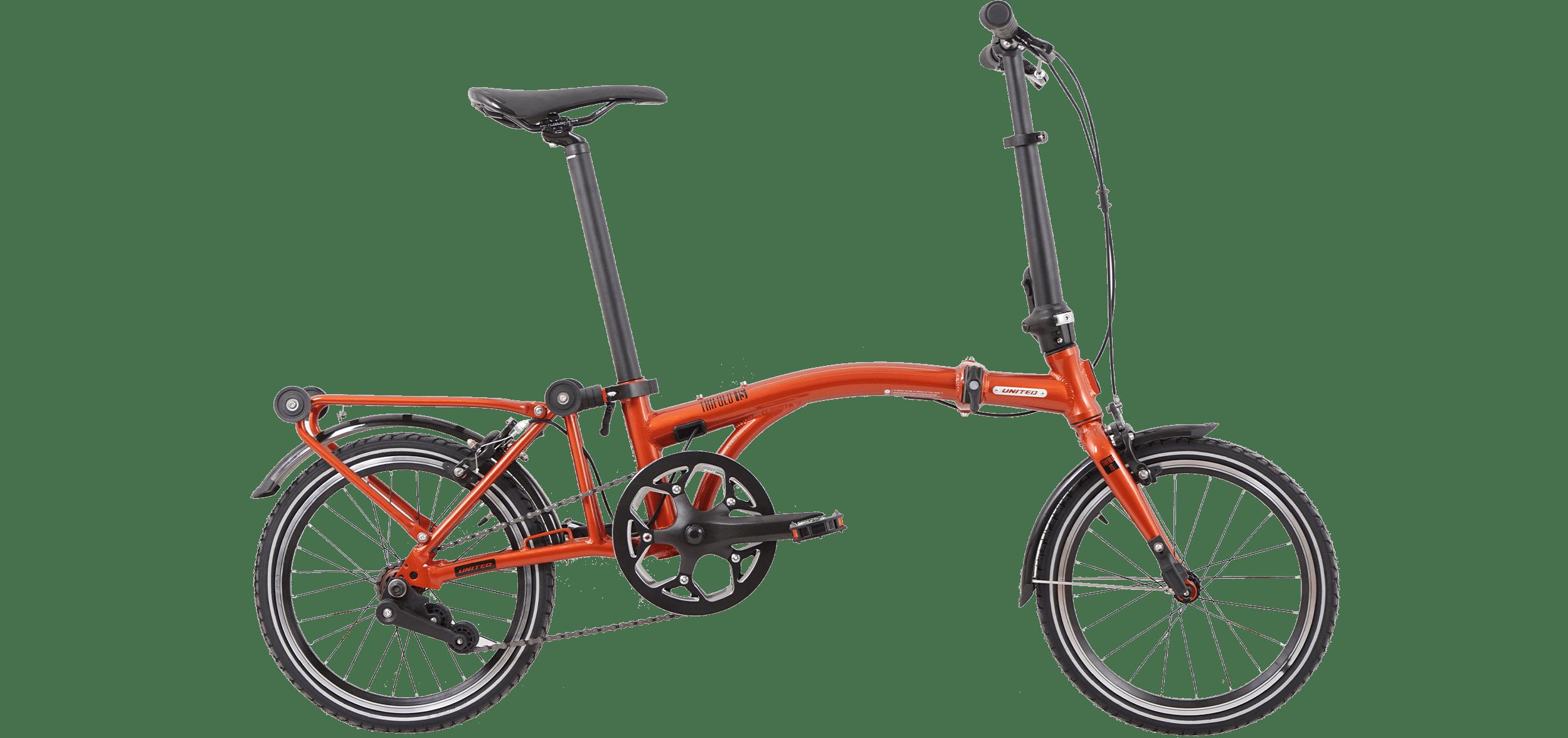 TRIFOLD 1S :: Orange-Black