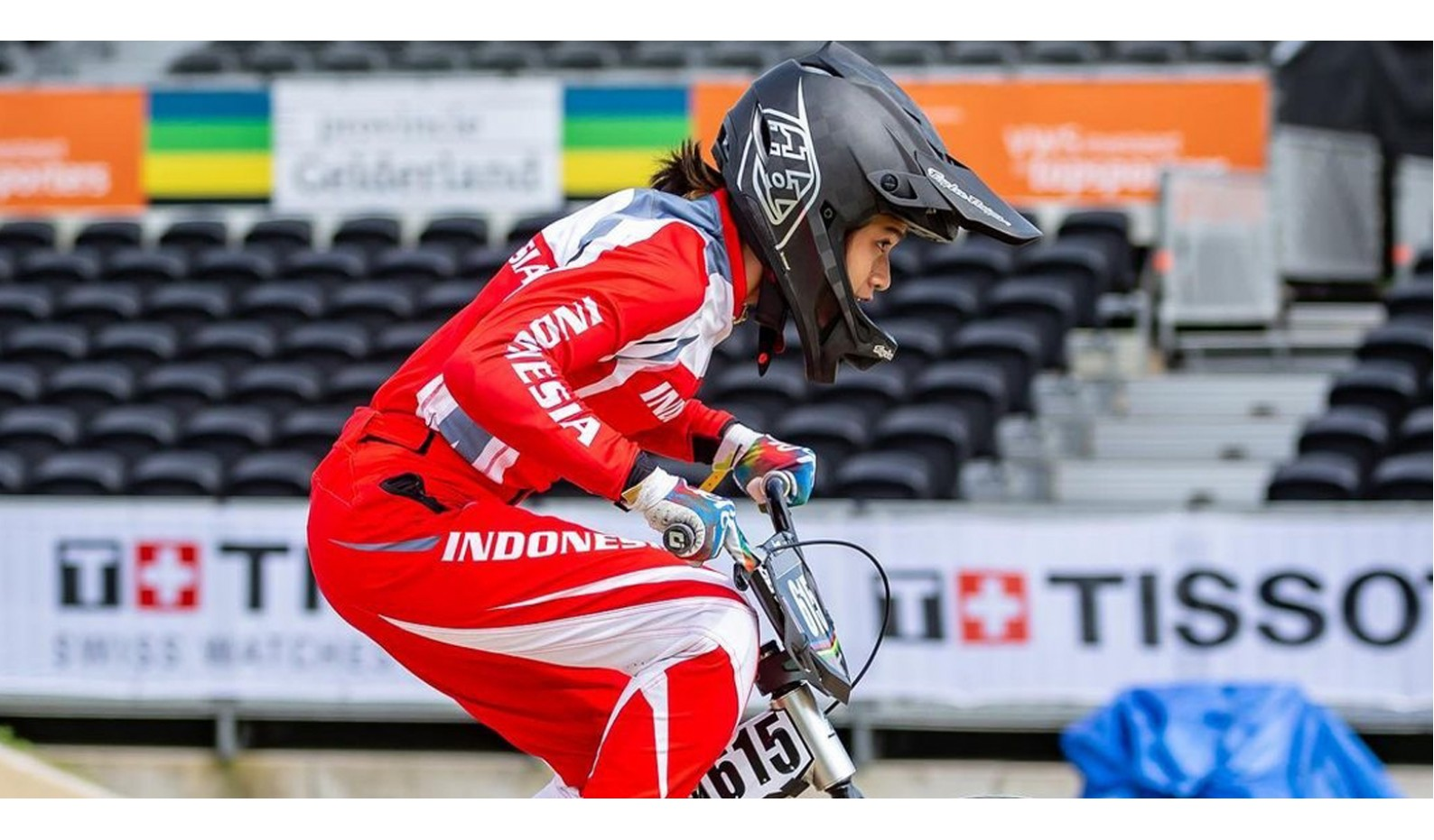 Prestasi Jasmine Azzahra di Kejuaraan Dunia BMX UCI 2021