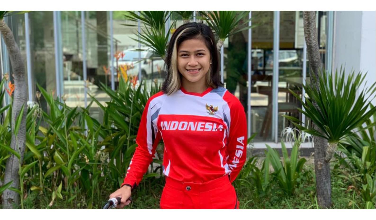 Jasmine Azzahra Akan Berlaga di 2021 UCI BMX World Championship